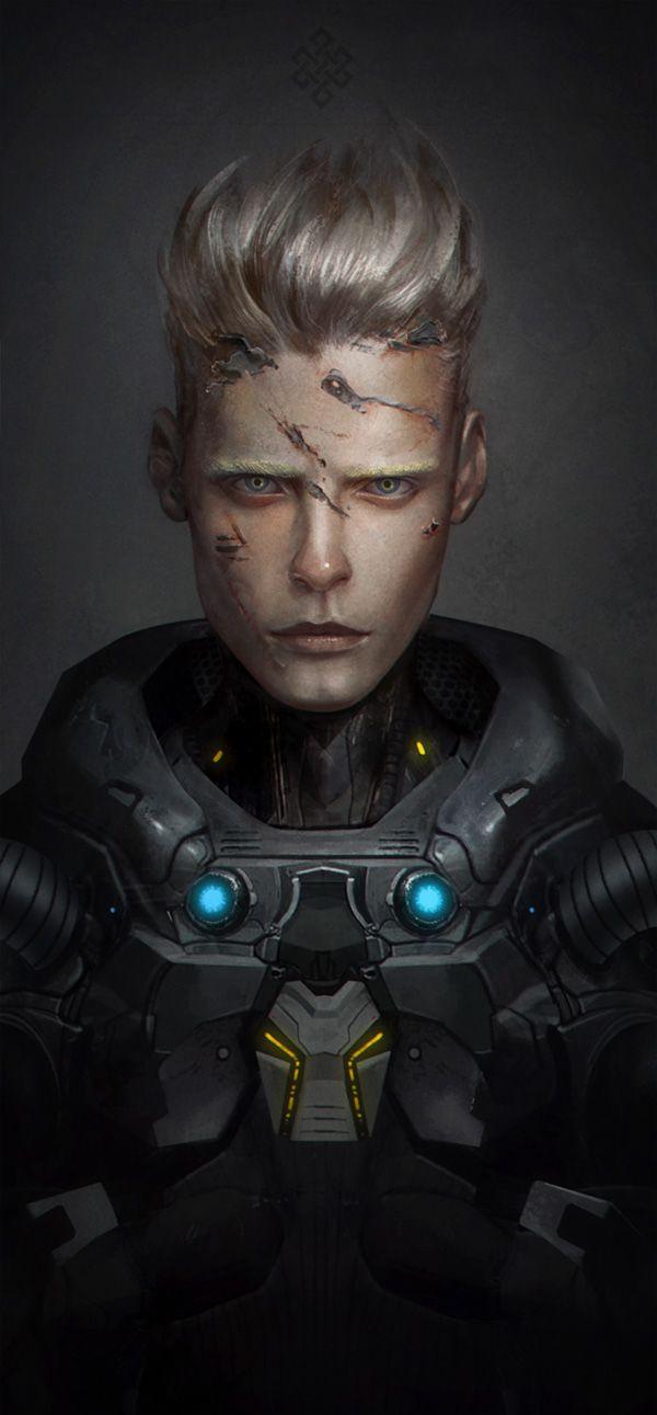cybernetic-psychosis:  Mikhail by GerryArthur