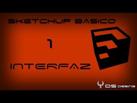 Curso Sketchup PRO 2014 en Español | Cap.: 1 | Interfaz del programa - YouTube
