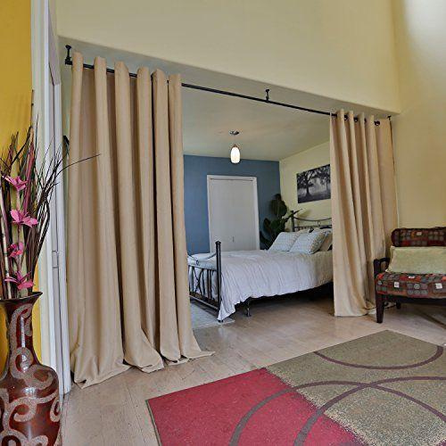 RoomDividersNow Premium Heavyweight Hanging Room Divider ... https://smile.amazon.com/dp/B015YEP4X4/ref=cm_sw_r_pi_dp_x_A3ZDzbJX3XZ61