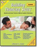 Building Thinking Skills® Beginning: A critical thinking workbook that Alexa loves. It starts out very basic--as simple as identifying colors and shapes that Alexa's known for two years now--but progresses at a decent rate to reasoning skills. She loves it.