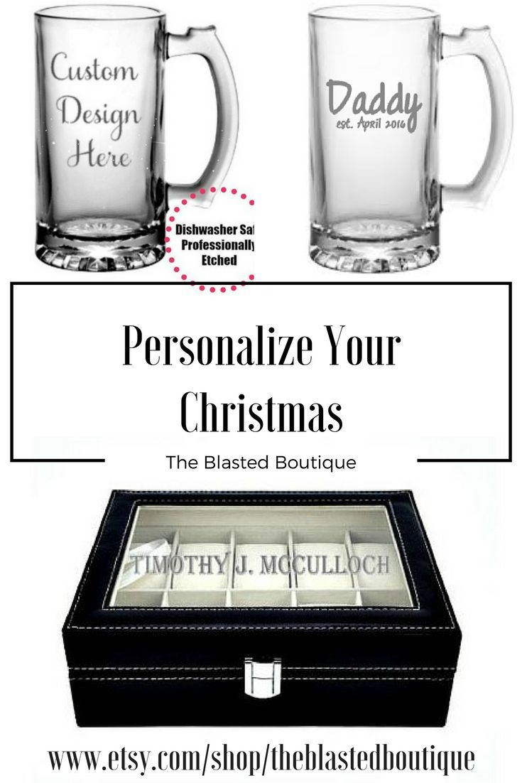Personalize Your Christmas! Shop all our personalized Christmas gifts!