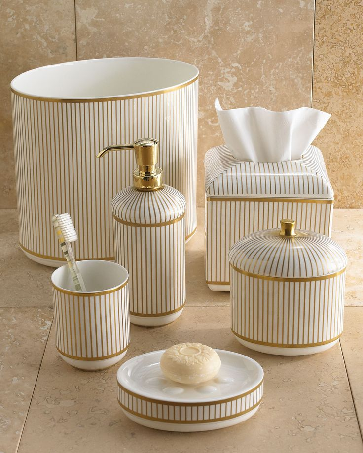 21 Best Gorgeous Gold Bath Accessories Images On Pinterest   Dr Livingstone  I Presume Accessories  Dr Livingstone I Presume Accessories