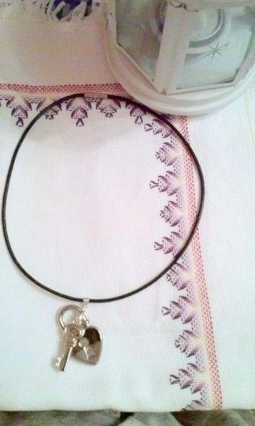 collana key di Lullaby & Bells Angy design su DaWanda.com