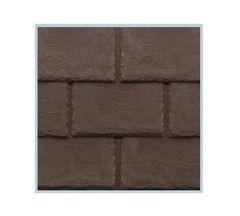 Tapco Plastic Slate Roof Tiles - Chestnut Brown from £5.39