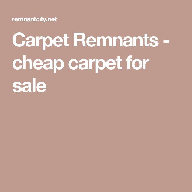 Carpet Remnants - cheap carpet for sale