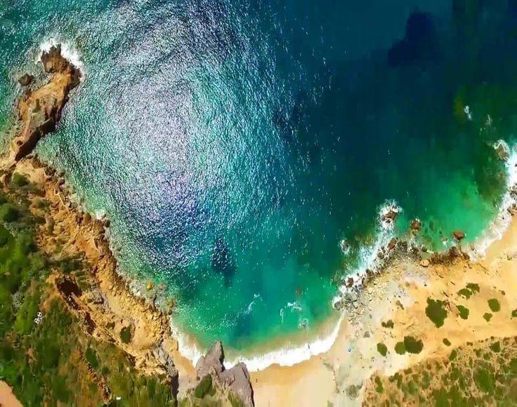 Οι κρυφές παραλίες της Αττικής από ψηλά