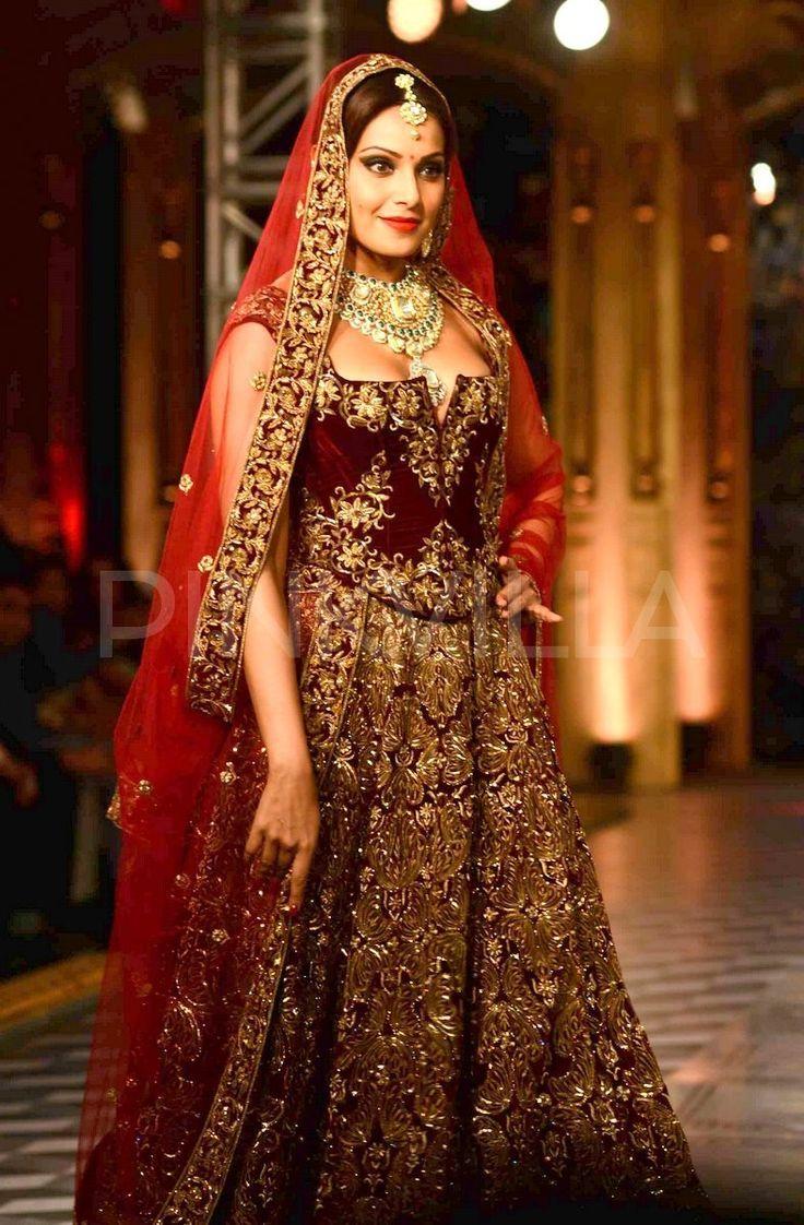 modern indian bride dress - Google Search