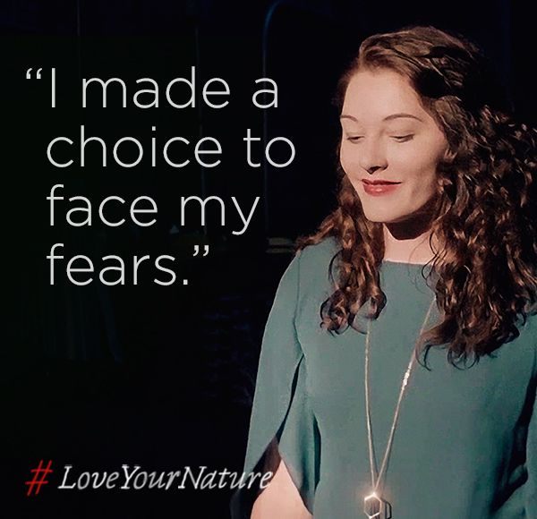 Mandy Harvey turned what the world said was a challenge into a gift. Because to sing your true song, you've got to #LoveYourNature.