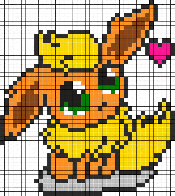 Pixel Art Pikachu Noctali