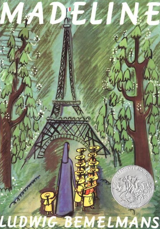 A classic, and it has a number of Paris landmarks - by the end of the book it's easy to recognize the Eiffel tower, even for young children.