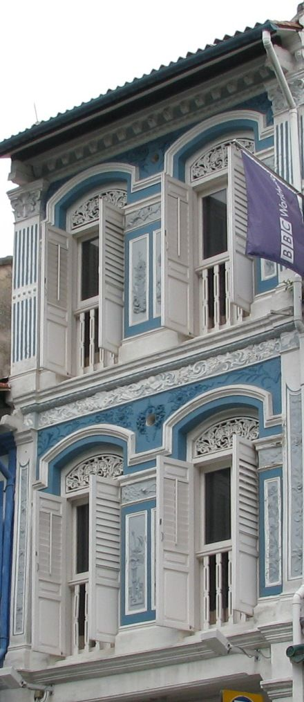 Beautiful old shophouses in Chinatown, Singapore - we just love immersing ourselves in the rich culture there!