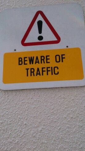 A cornucopia in the world of traffic signs - this covers a lot if not everything