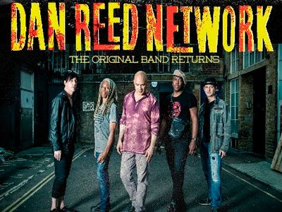 Dan Reed Network, es seguramente uno de los retornos más esperados y espectaculares en el mundo del rock americano de los 80 y 90's, donde fueron una de las bandas más sobresalientes de la escena funk rock, soul, hard rock.   #DAN REED NETWORK