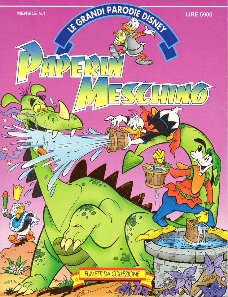 PAPERIN MESCHINO - Le Grandi Parodie Disney n. 1 (1992)