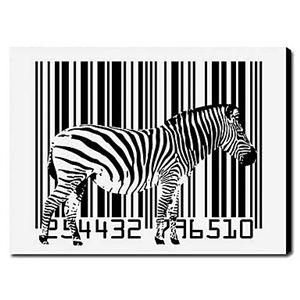 Illustration tendu toile imprimés zèbre animaux 1211-0031