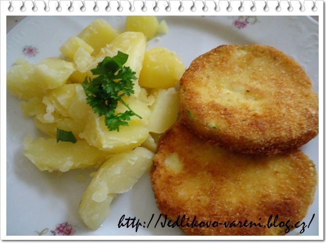 Jedlíkovo vaření: cuketa na řízek #recipe #czech #cuketa