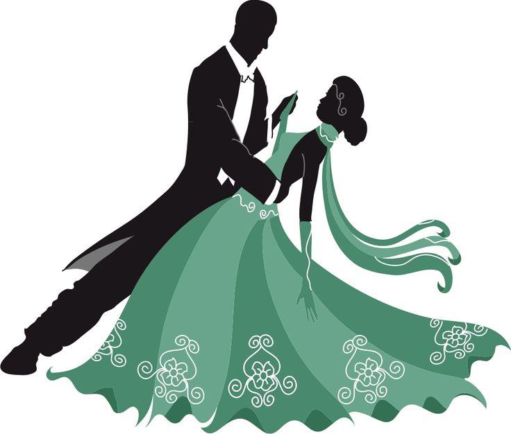 Pics For > Ballroom Dance Clip Art Silhouettes | Delicate ...