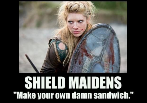 """Make your own d*mn sandwich."" :P #Vikings #HistoryChannel"