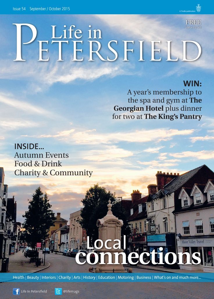 Local connections ~ Life in Petersfield Sept-Oct 2015, photo by Marc Sayce. #locallife #Petersfield #Hampshire #community #lifestyle #magazine