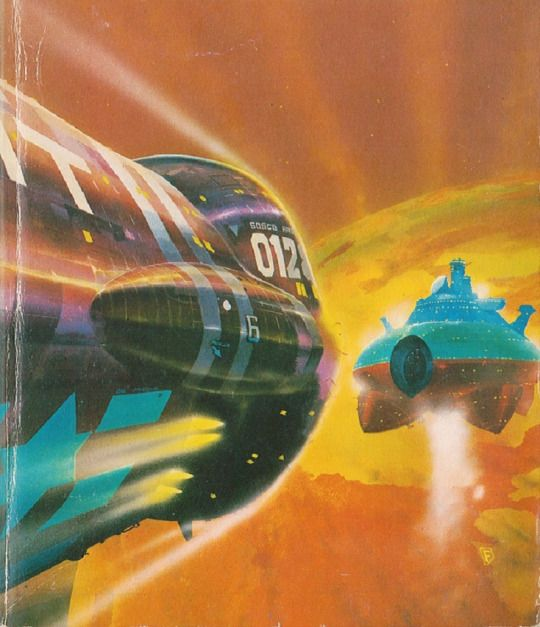 70s Sci Fi Art Chris Foss