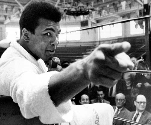 """If they can make penicillin out of mouldy bread, they can sure make something out of you."" • Muhammad Ali"