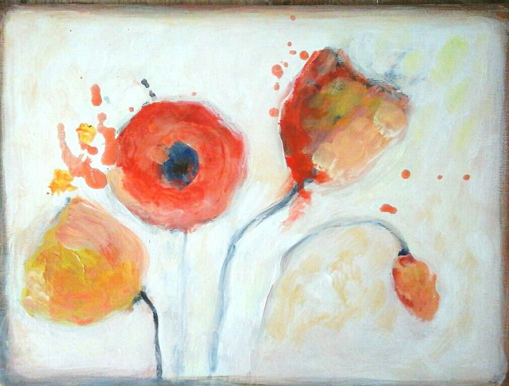 #kobus#malgorzata#abstract#flowers#acrylic#painting