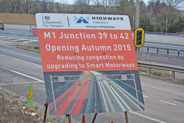 A total of 10 new overhead gantries are required along the construction of the M1 junction 39 to 42 smart motorway scheme. The gantries will house signs used to display variable speed limits to manage traffic flow and reduce congestion.  The first stage of work takes place every Saturday until 21 February. There will be overnight full motorway closures between junctions 39 and 40 from 8pm on Saturdays to 8am on Sundays. A clearly signed diversion route will be in place.