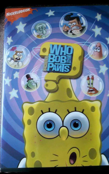 Nickelodeon Spongebob Who Bob What Pants Spongebob DVD