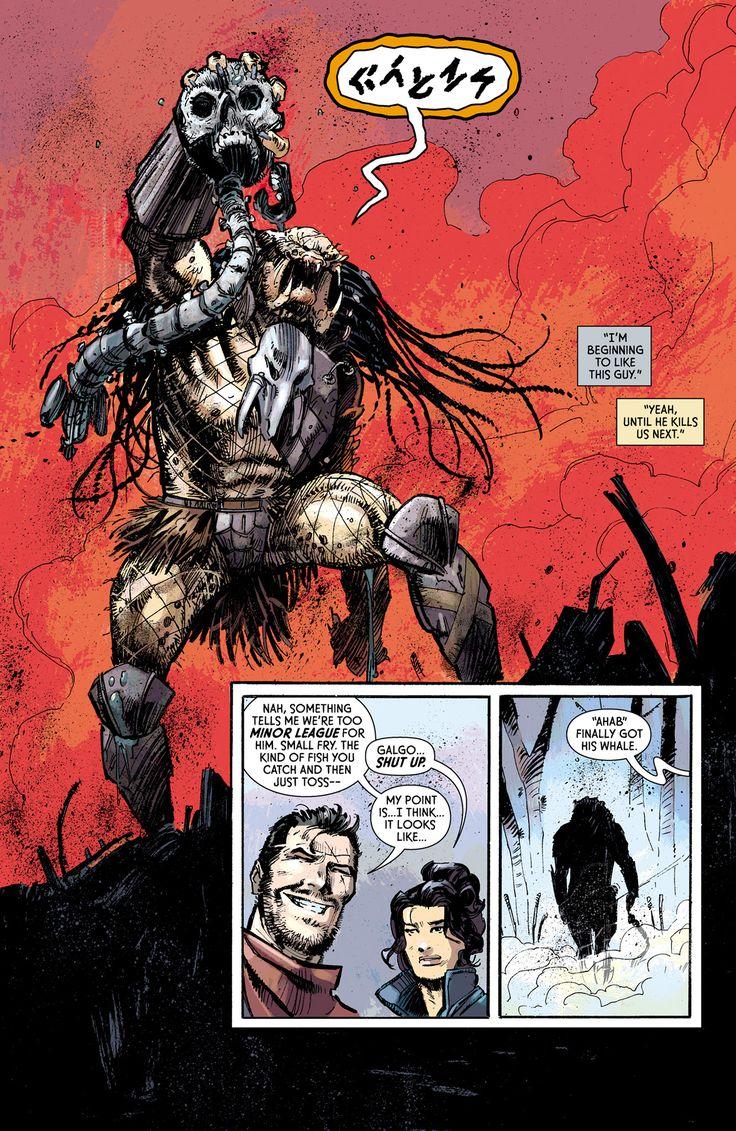Predator: Fire and Stone Issue #4 - Read Predator: Fire and Stone Issue #4 comic online in high quality