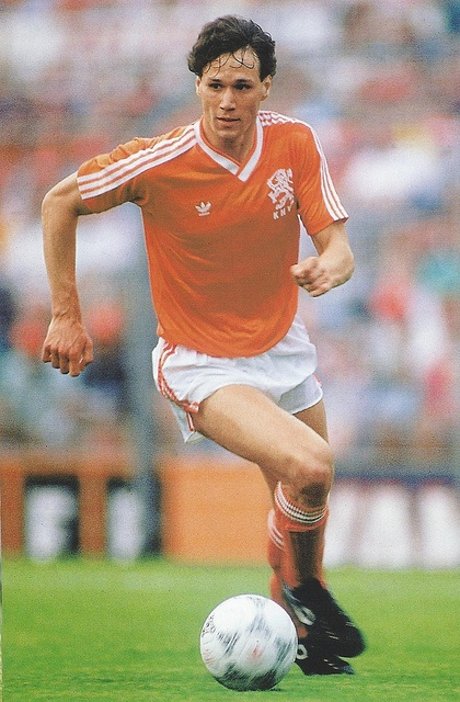 "Marcel ""Marco"" van Basten (Dutch pronunciation: [ˈmɑr.koˑ vɑn.ˈbɑs.tə(n)] ( listen); born 31 October 1964) is a Dutch football manager and former football player, who played for Ajax and A.C. Milan, as well as the Netherlands national team, in the 1980s and early 1990s. He is regarded as one of the greatest strikers of all time and has scored 277 goals in a high-profile career, but played his last game in 1993 at the age of 28 due to an injury which caused his retirement two years later."