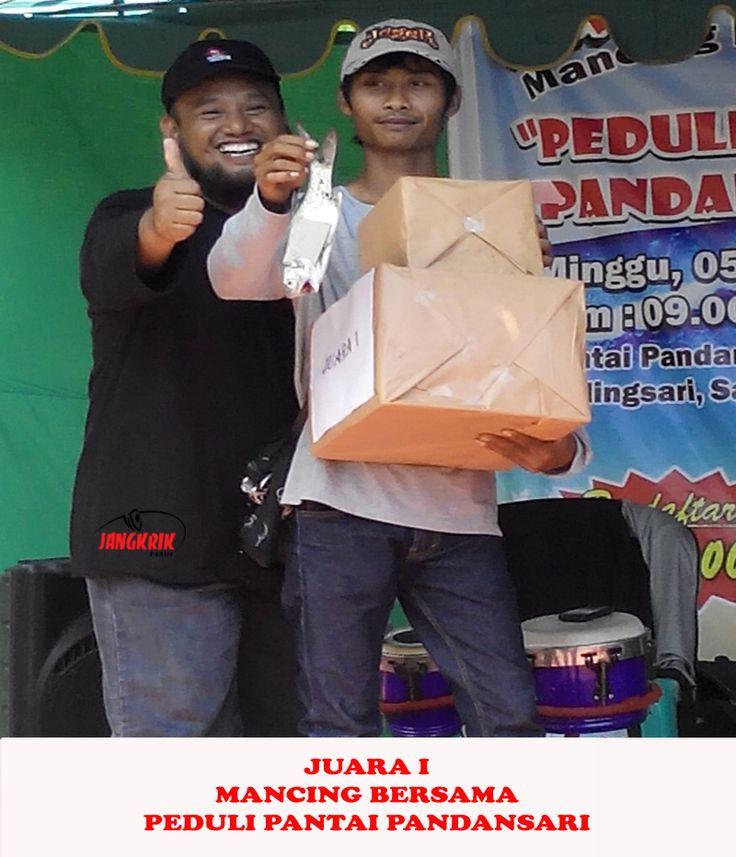 Juara 1 Mancing Bersama, Peduli Pantai Pandansari