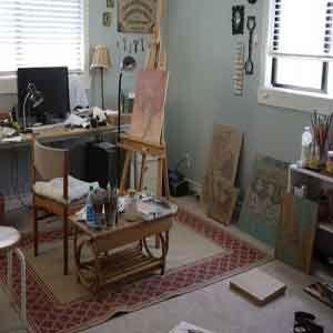 3 Ventajas de Tener el Estudio de Arte en nuestra Casa.  http://comopintarcuadrosconoleo.com/3-ventajas-estudio-de-arte-en-casa