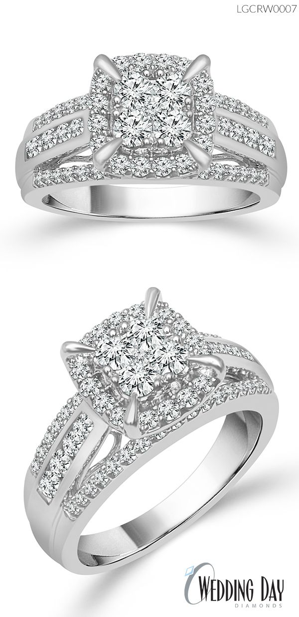 Pin By Wedding Day Diamonds On Affinity Collection Fantasy Ring Wedding Day Diamonds Wedding Rings