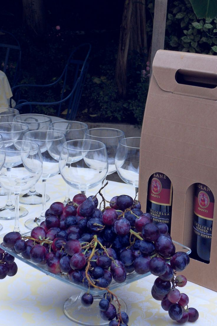 #Wine #tasting @ #Hotel 4 Stagioni: #Bardolino and #Valpolicella Ripasso! #tasty #LakeGarda #holidays