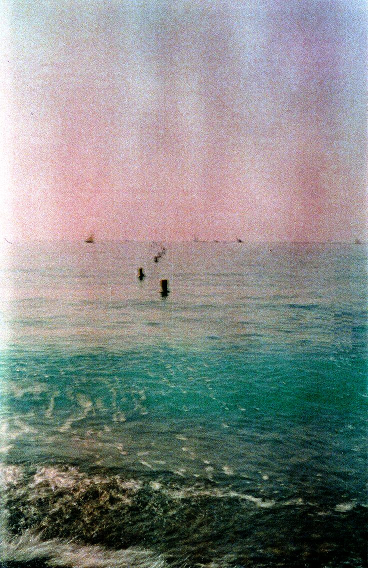 Grainy Sea.  Expired film.  © Chris Trew / Plastic Cameras 2012