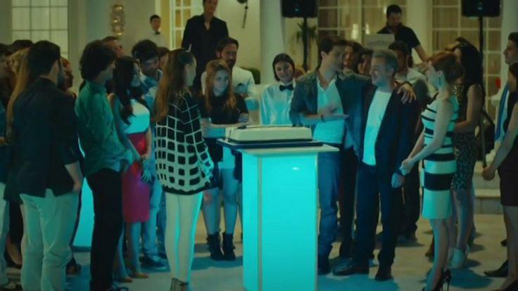 Medcezir 36.Bölüm - Son Sahne - Yaman'ın doğum günü partisinde korkulan olur...