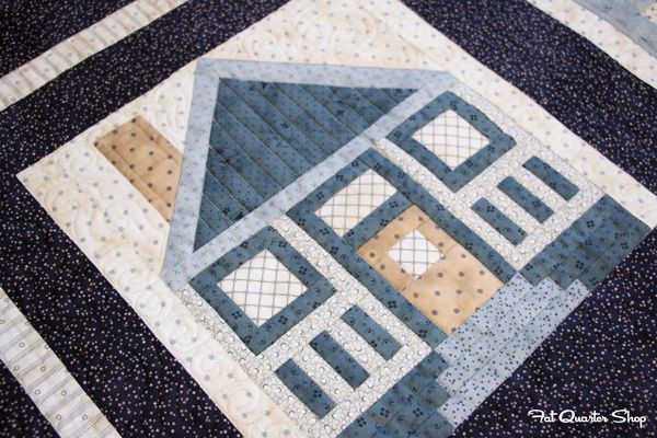 2015 Designer Mystery Block of the Month with Fat Quarter Shop