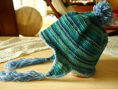 Περουβιανών σκούφων συνέχεια - Crochet Perouvian hat