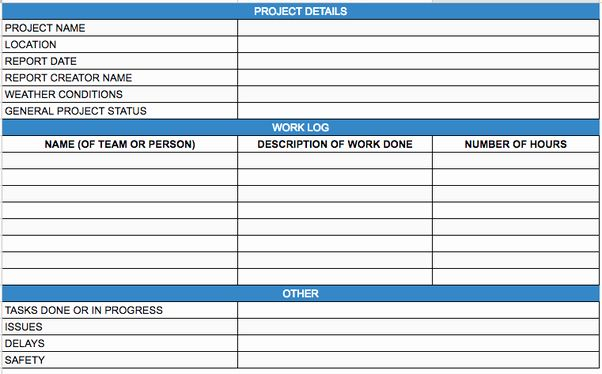 Daily Report Template Excel Luxury What Is Daily Progress Report In Construction Quora Progress Report Template Daily Progress Report Template