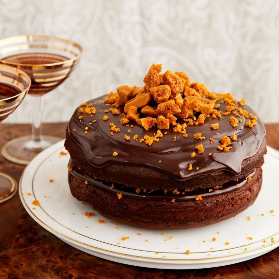 Chocolate and Honeycomb Torte   Desserts and Cakes ...