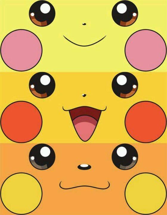 Pichu, Pikachu, and Raichu. | Wallpapers | Pinterest | Pikachu