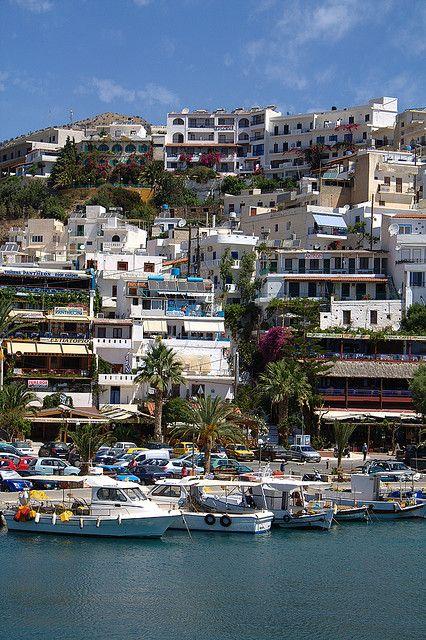 Agia Galini village in Crete Island, Greece (by Jamie McK).