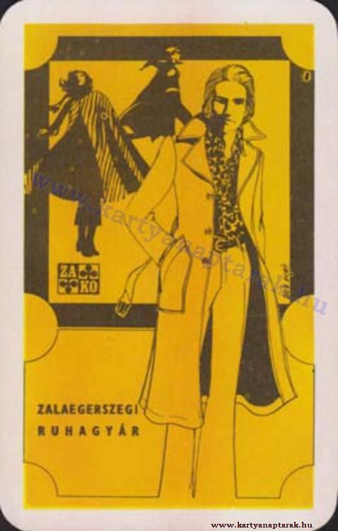 1972 - 1972_0620 - Régi magyar kártyanaptárak