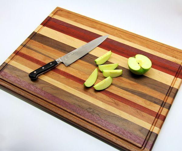 DIY Woodworking Ideas Scrap Wood Cutting Board
