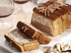 Kerstkoek met chocoladeroom