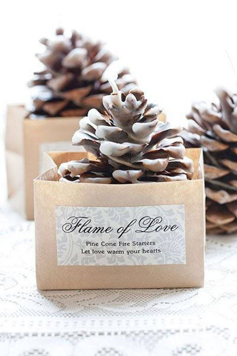 57 Pinecone Decor Ideas For Your Wedding | HappyWedd.com