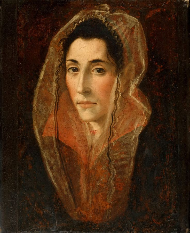 El Greco 1541-1614 - Portrait of a Lady