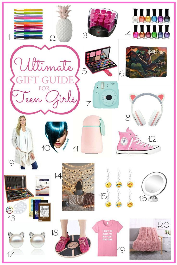 Ultimate Holiday Gift Guide for Teen Girls | Gifts/wishlist ...