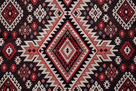 Carpet FabricUpholstery FabricKilim FabricGeometric