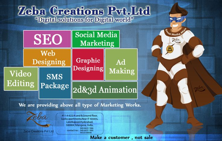 #ZebaCreations Pvt ltd. Providing #Quality Services. See more @ http://www.zebacreations.com/